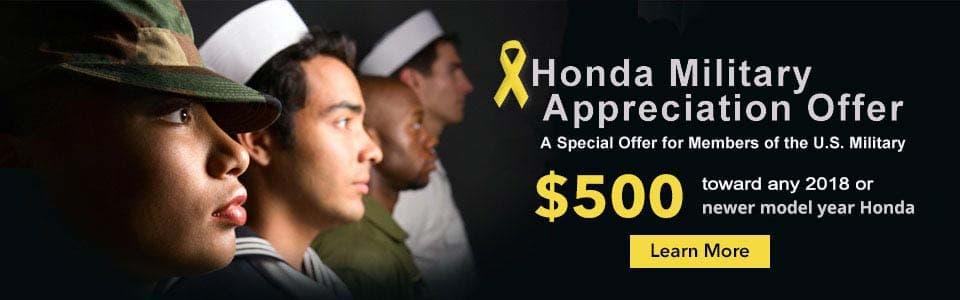 Honda-Military-Offer