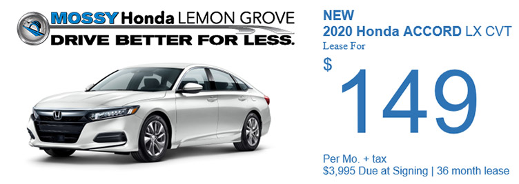 July Accord Special