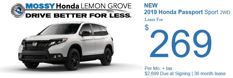 Mossy Honda Lemon Grove | New & Used Honda Dealer | San
