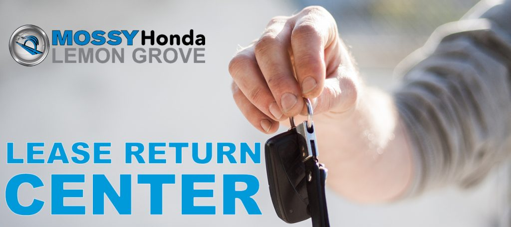 Honda Lease Return Center in San Diego