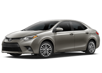 Rent a Corolla at Mossy Toyota