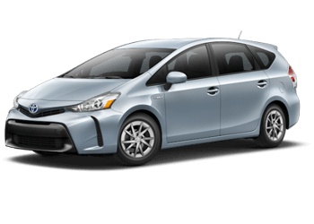Rent a Prius v at Mossy Toyota