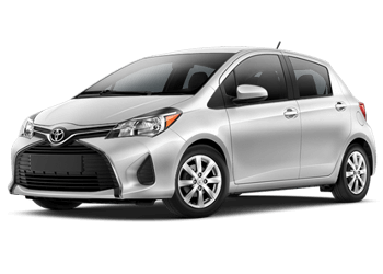 Rent a Yaris at Mossy Toyota