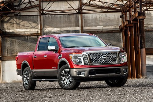 Nissan Reveals All New Titan Full Size Pickup For New York Drivers