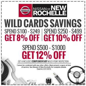 Nissan Service Specials & Coupons - Nissan of New Rochelle