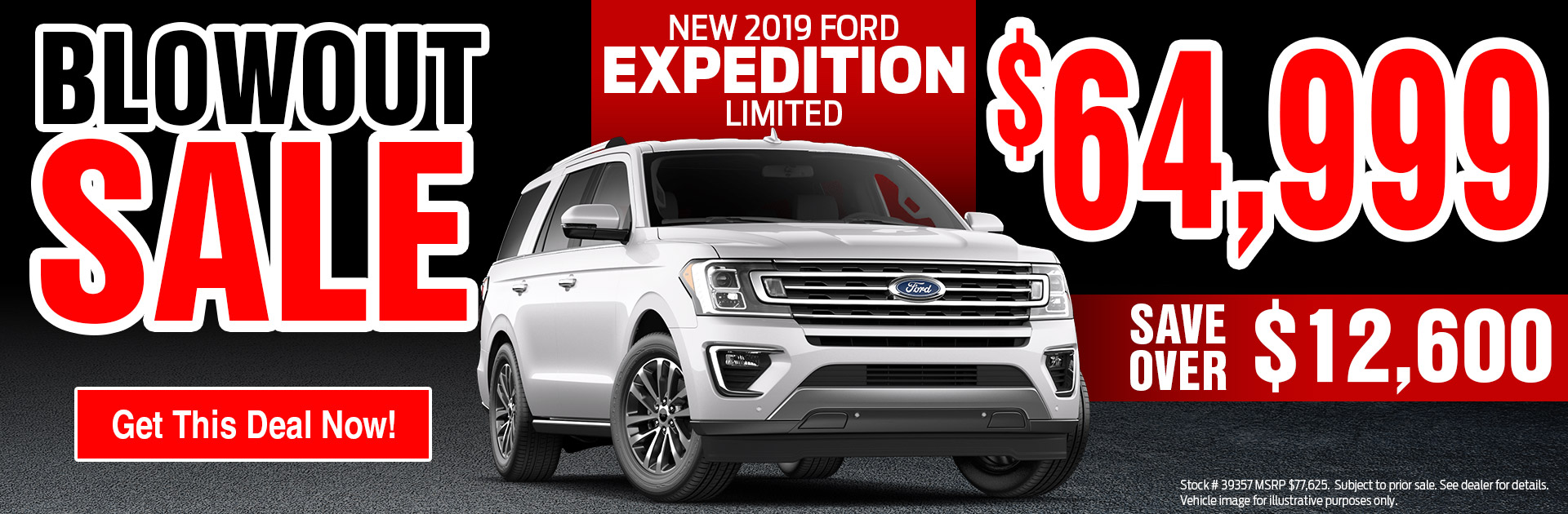 North East Ford Blowout Sale 1