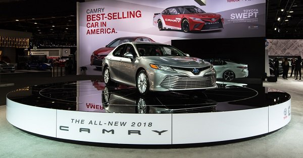 A Sexy New Look For A Toyota Classic Presenting The Camry - New orleans car show