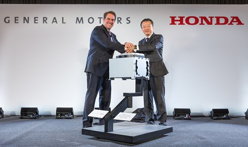 Honda GM Fuel Cell