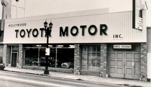 1957 Toyota Dealer
