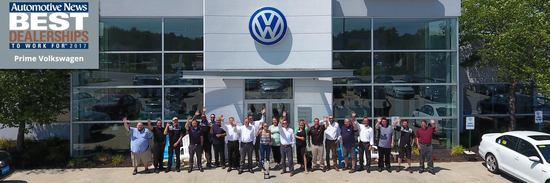 Prime Volkswagen Dealership Saco Portland Biddeford