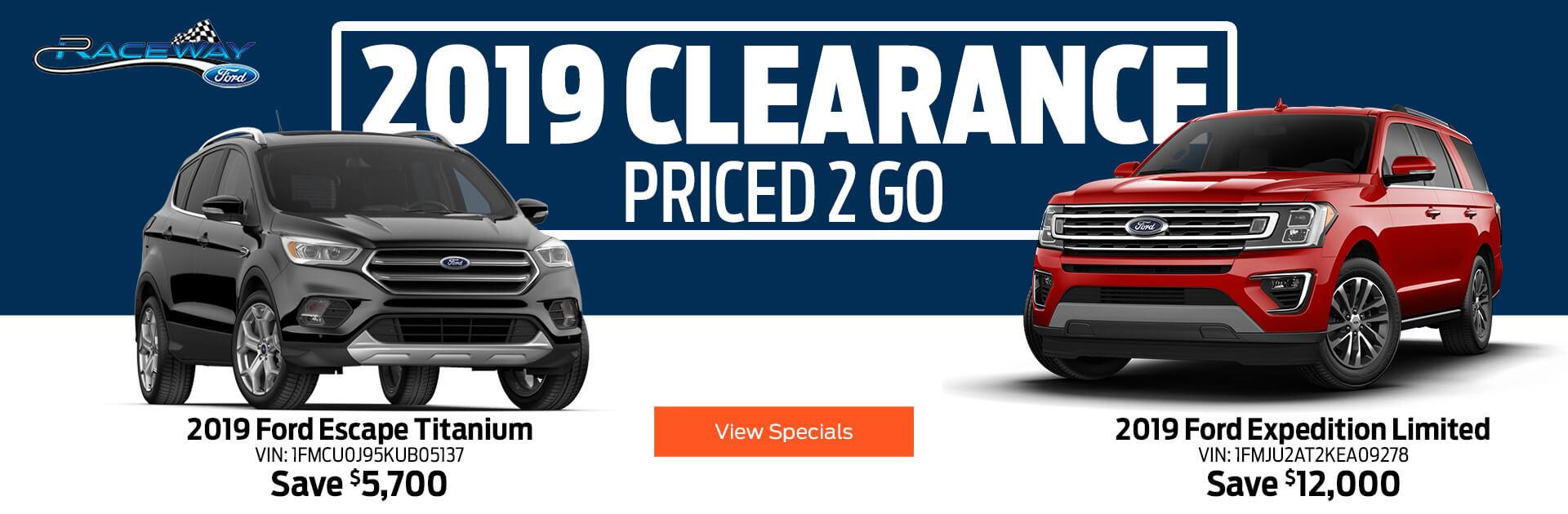 2019 Clearance Sale 1