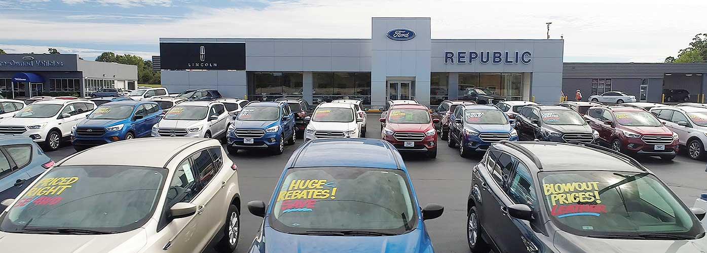 Republic Ford Lincoln Inc Ford Dealership In Republic Mo
