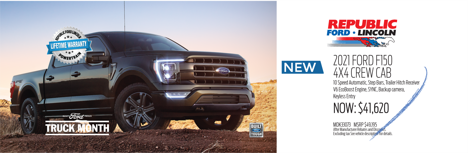 Truck Month 2021 Ford F150 1920x630