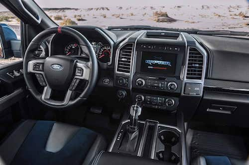 Ford F-150 Raptor Dash
