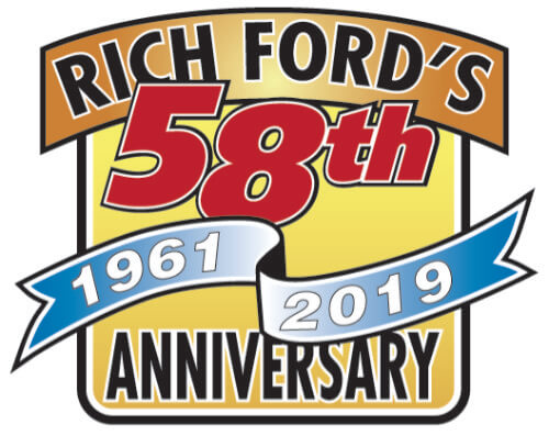 Rich ford 58th anniversary