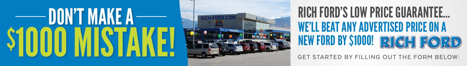 Richford Banner Lowpriceguarantee