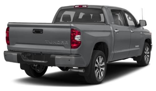2020 Toyota Tundra Rear