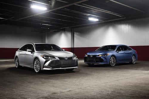2019 Toyota Avalon Gasoline & Hybrid Model