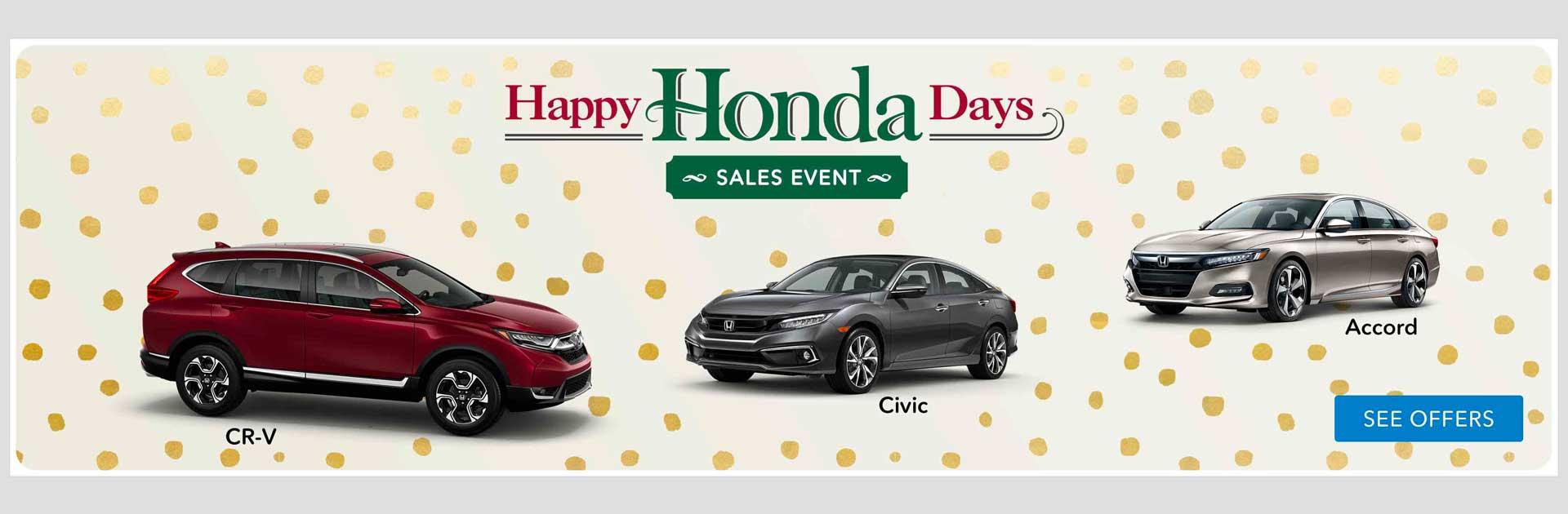 Happy Honda Days Banner