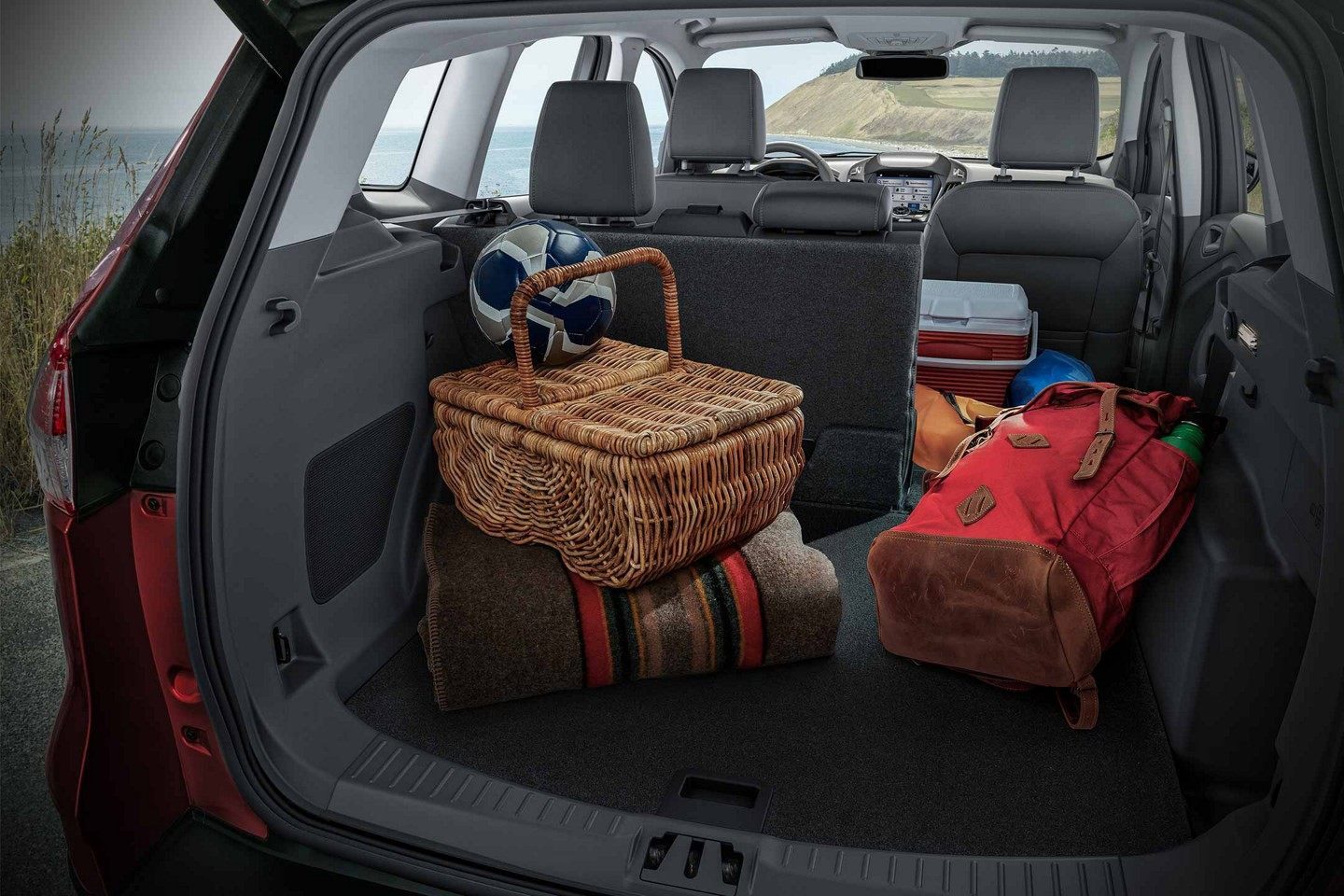 2019 Ford Escape Cargo Features