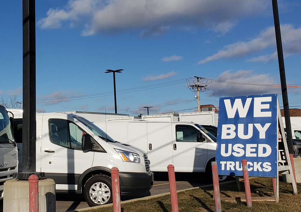 Used Ford Commercial Vehicles For Sale