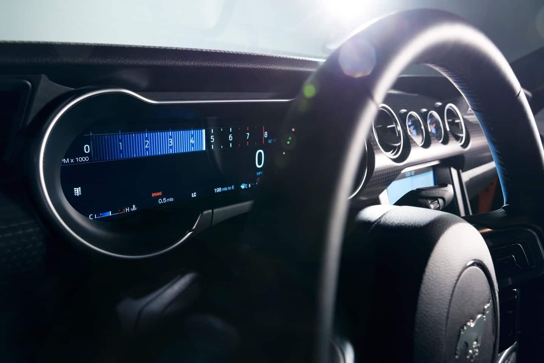 2019 Mustang GT Gauges