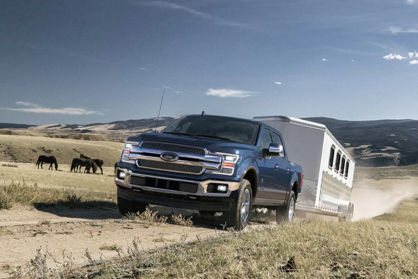 New 2020 F-150 Towing Features