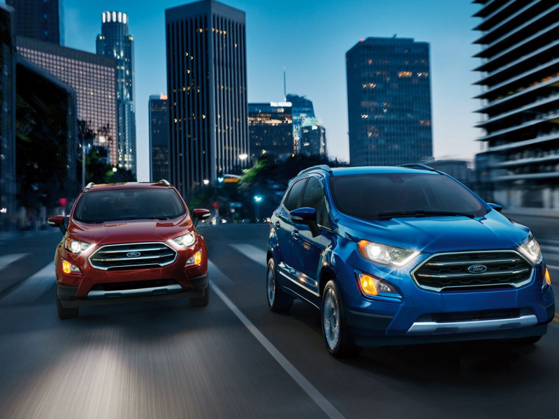Roesch Ford offers many Ford EcoSport vehicles in Bensenville, IL