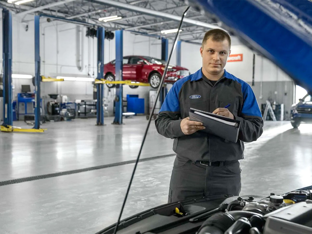 Ford Multi-Point Vehicle Inspection