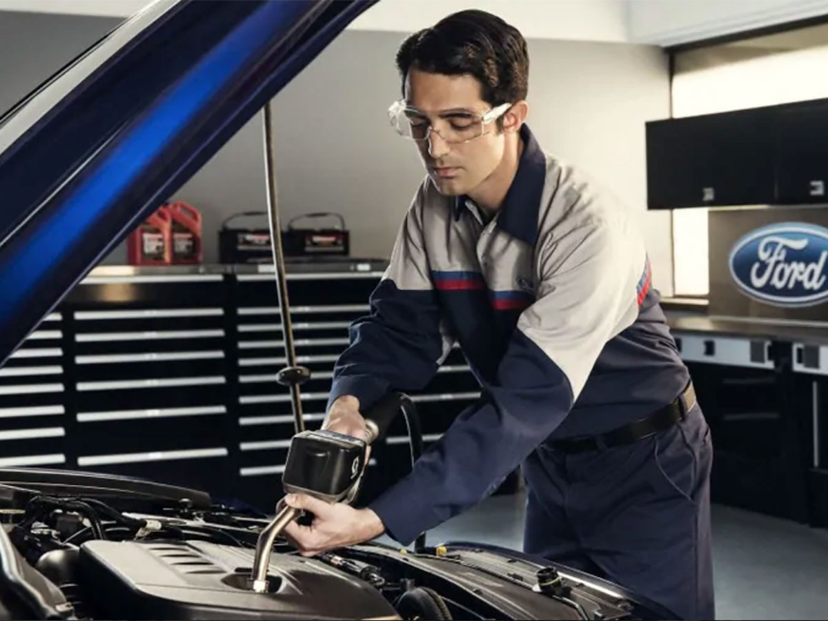 Ford Synthetic Oil Change Service