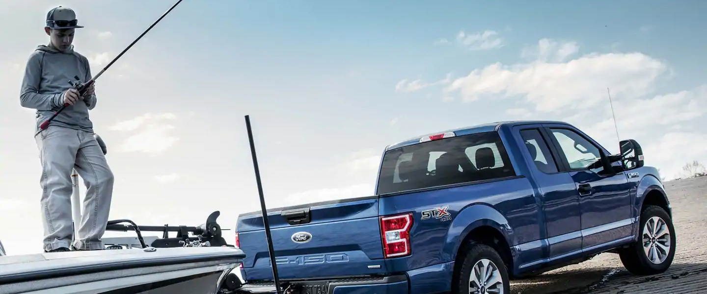 The 2019 Ford F-150 available at Roesch Ford in Bensenville, IL