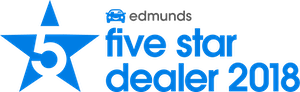 Edmunds Five Star Dealer 2018