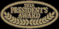 2018 President's Award