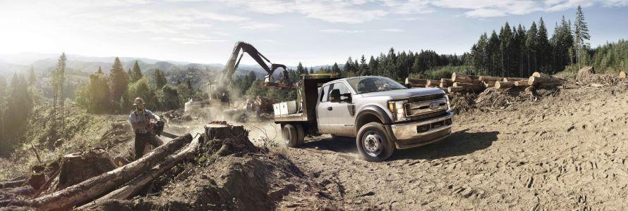 2019 Ford Super Duty Logging