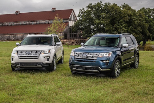 Specialty Edition Ford SUVs