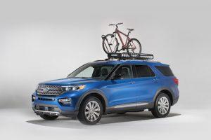 2020 Ford Explorer with Yakima Bike Rack