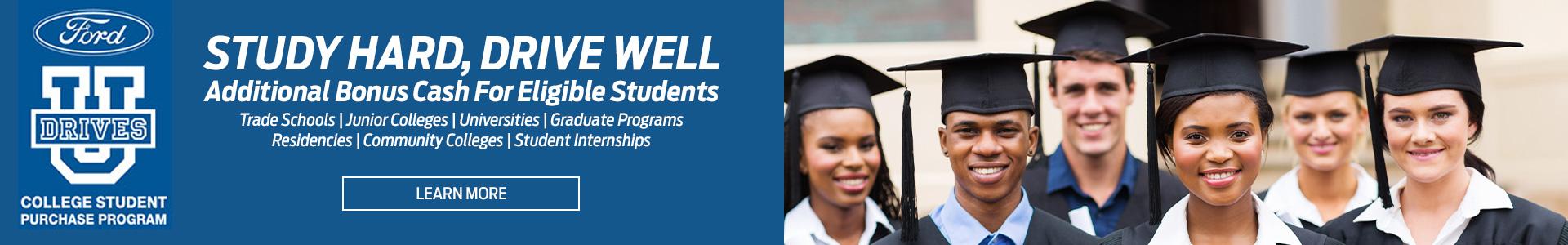 College Student Program Banner