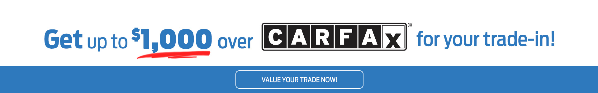 Carfax Trade In Offer Srp
