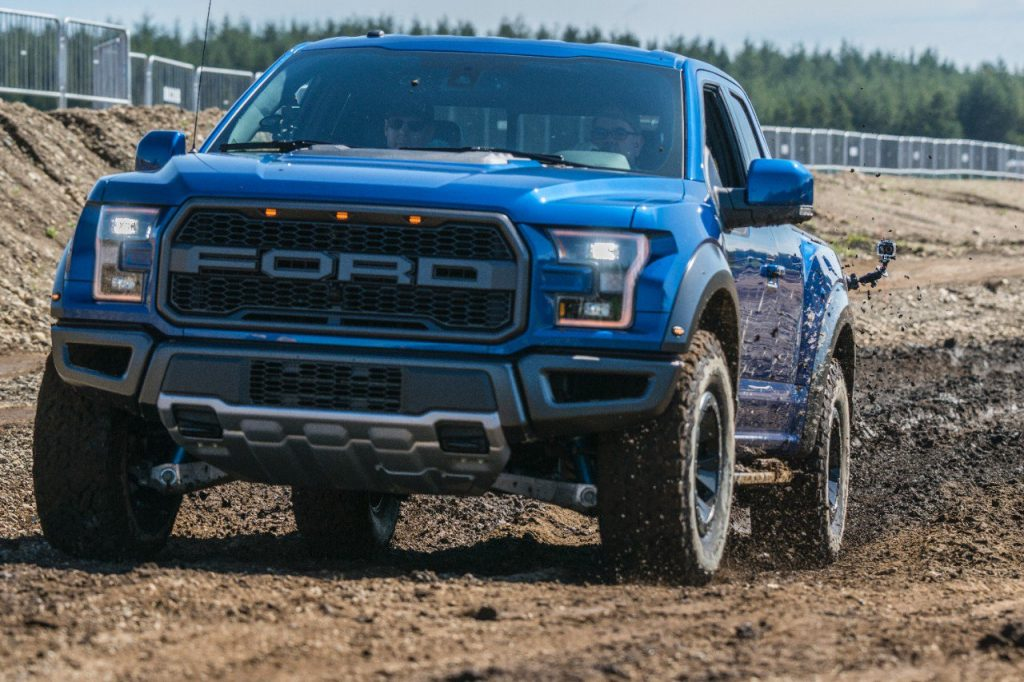 The 2017 Ford F 150 Raptor Was Recently Named Best Pickup During The Northwest Outdoor Activity Vehicle Of The Year Mudfest The Mudfest Is A Two Day