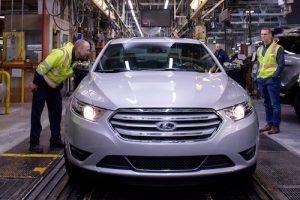 Last Ford Taurus Production