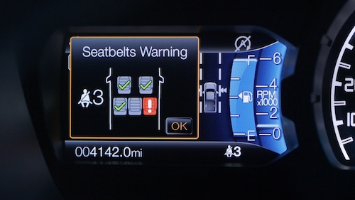 Ranger Seat Belt Monitor