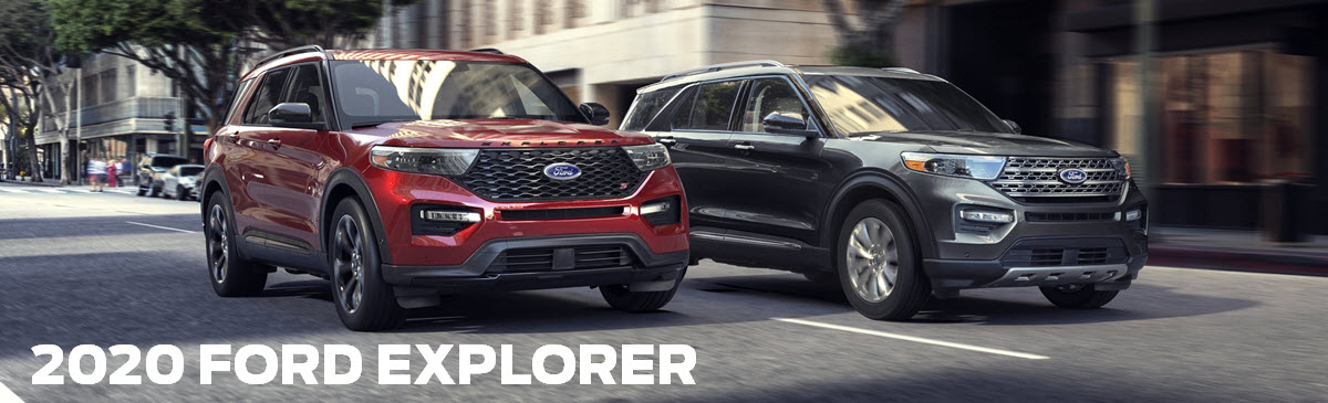 2020 Ford Explorer header