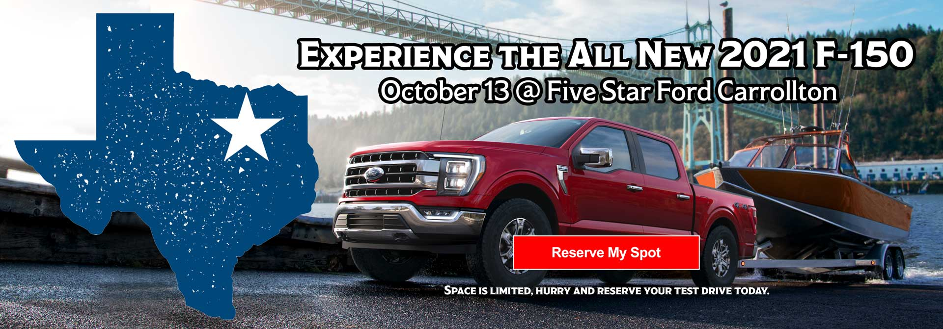 Spford F150 Reservation