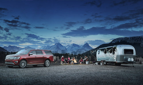 2018 Ford Expedition & Camper