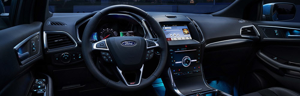 2019 Ford Edge Interior Technology