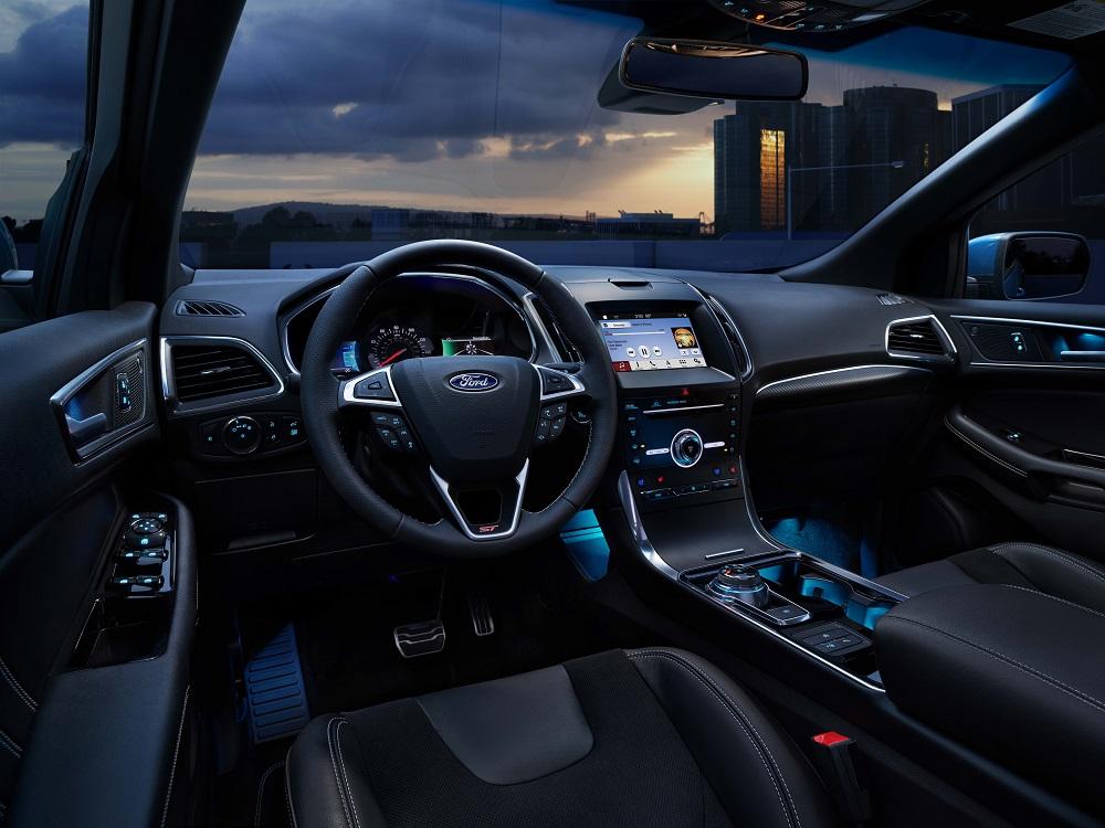 2019 Ford Edge Interior Technology