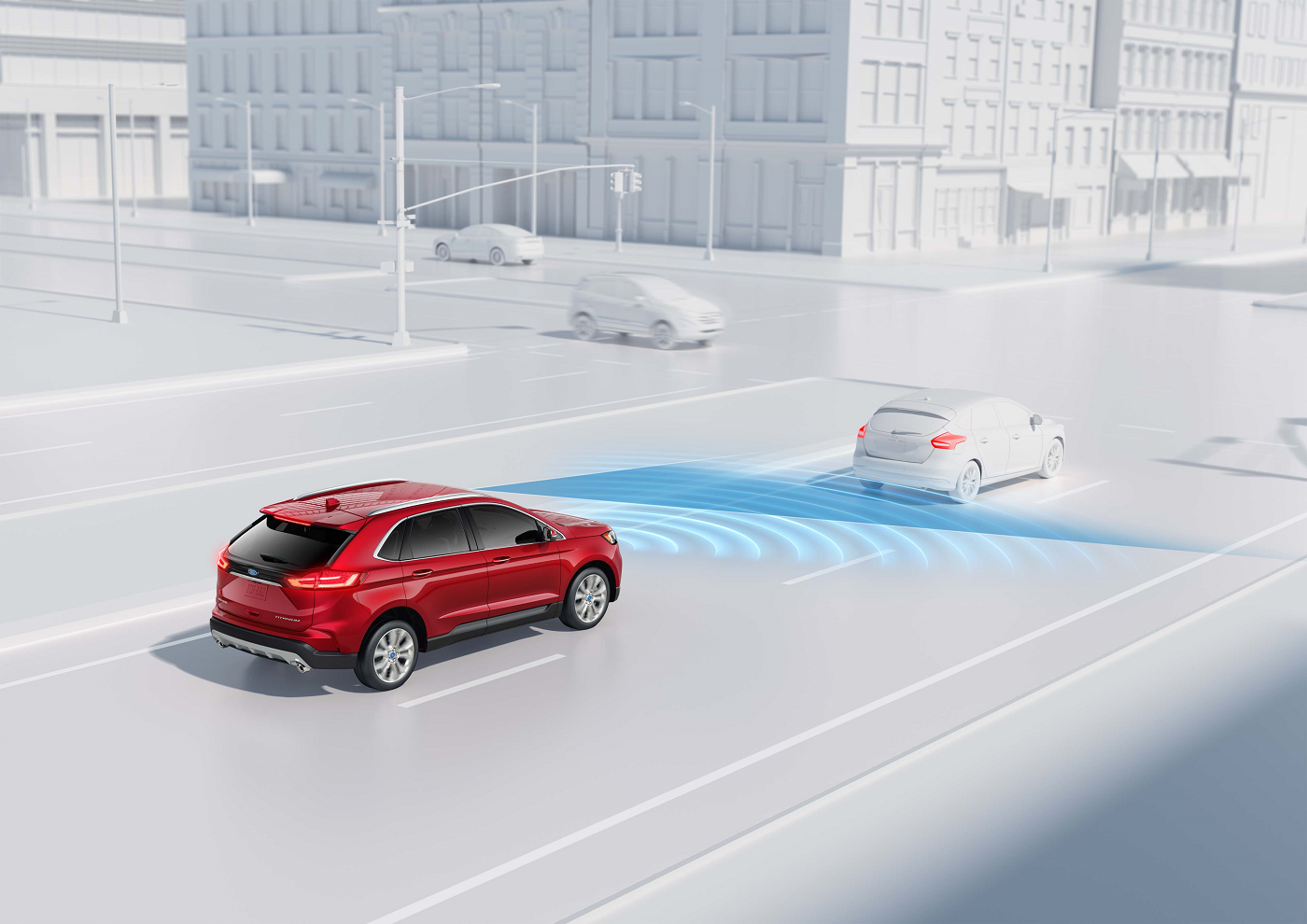 2019 Ford Edge driver assisting technology
