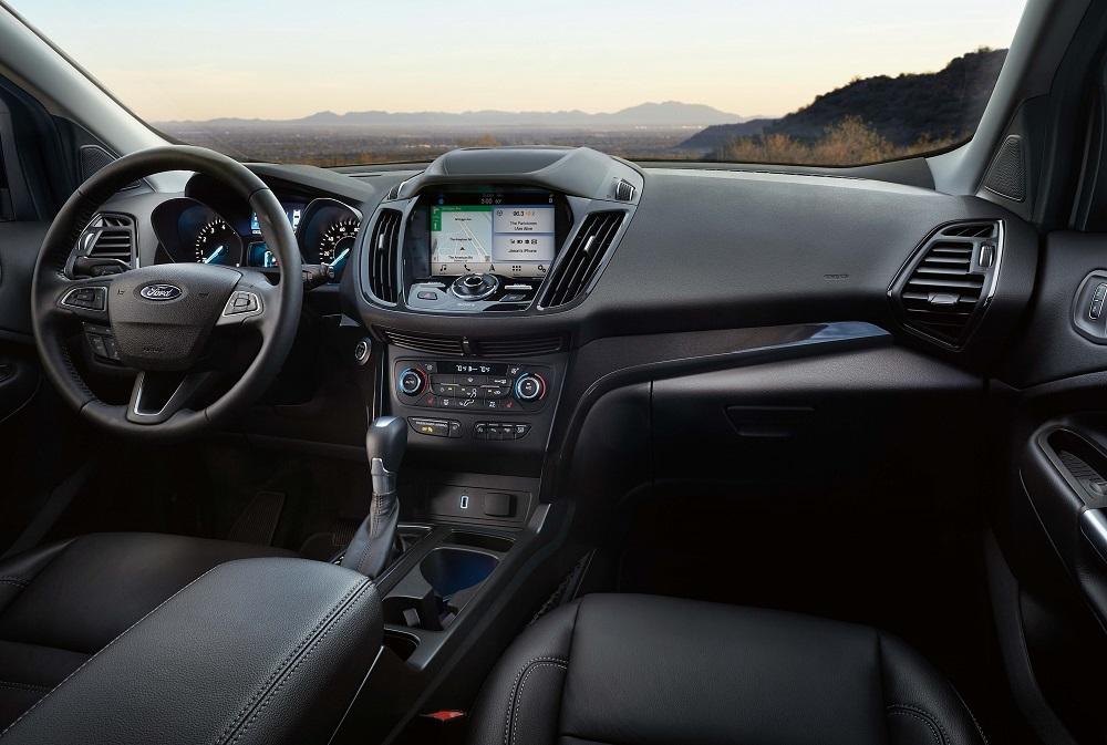 2019 Ford Escape vs RAV4 Interior Design and Convenience