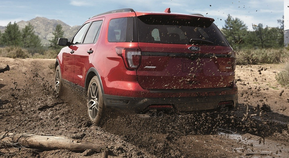 2019 Ford Explorer Red