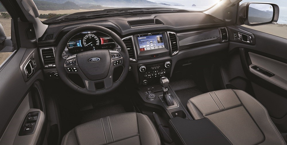 2019 Ford Ranger Interior Technology